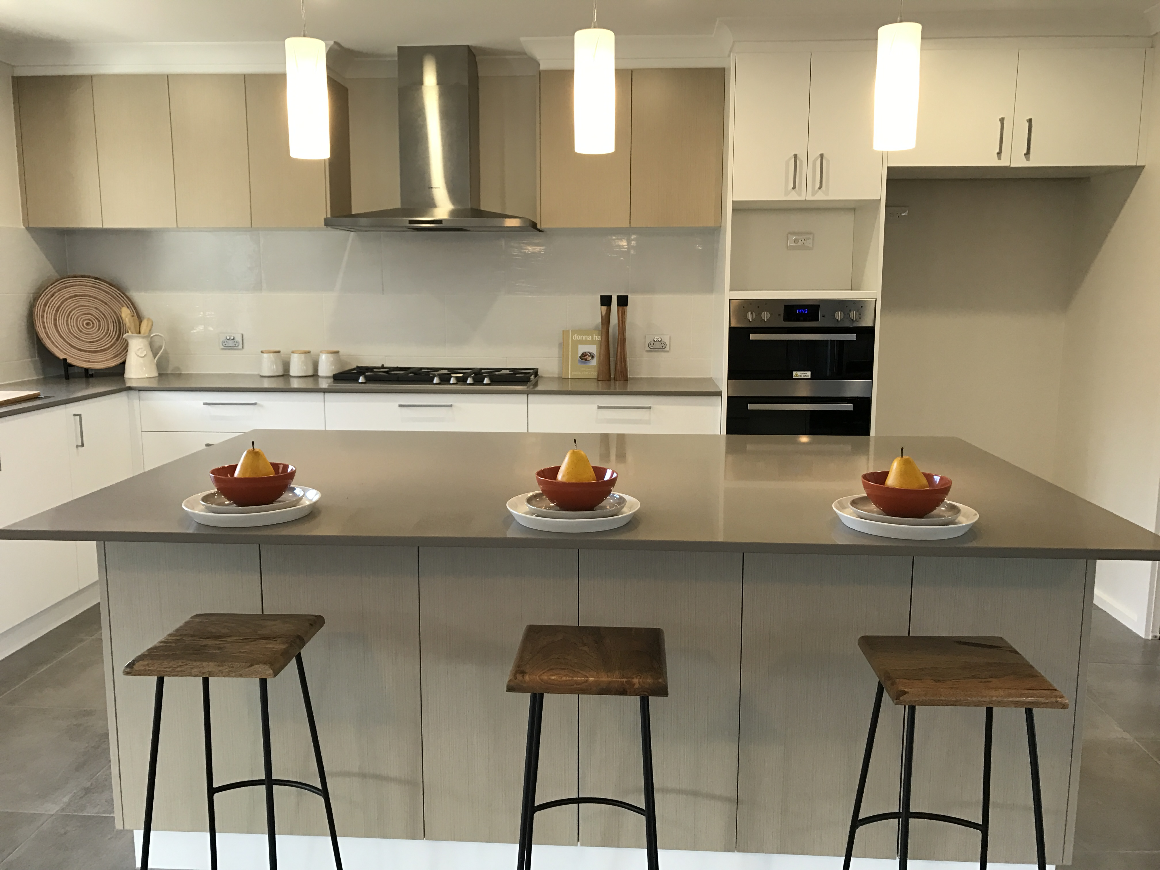 Modular Kitchen designed by Elements Property Styling for sale purpose.